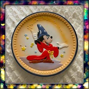 {Disney} Fantasia Sorcerer's Apprentice 1990 plate